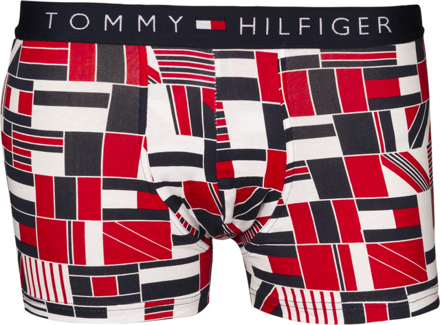 Tommy Hilfiger TRUNK FLAGBLOCK 611 TANGO RED UM0UM00503-611