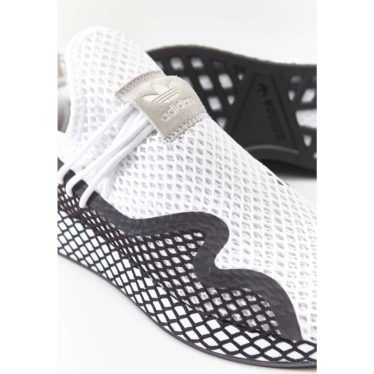 Buty adidas  <br/><small>DEERUPT S FOOTWEAR WHITE/CORE BLACK/FOOTWEAR WHITE </small>  BD7874