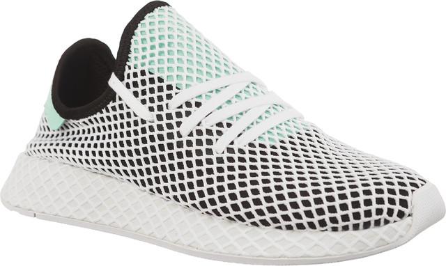 save off 3b4e6 c2e2f Buty adidas brsmallDEERUPT RUNNER CORE BLACKEASY GREEN ...