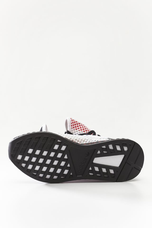 Buty adidas  <br/><small>DEERUPT RUNNER FOOTWEAR WHITE/CORE BLACK/SHOCK RED </small>  DB2686