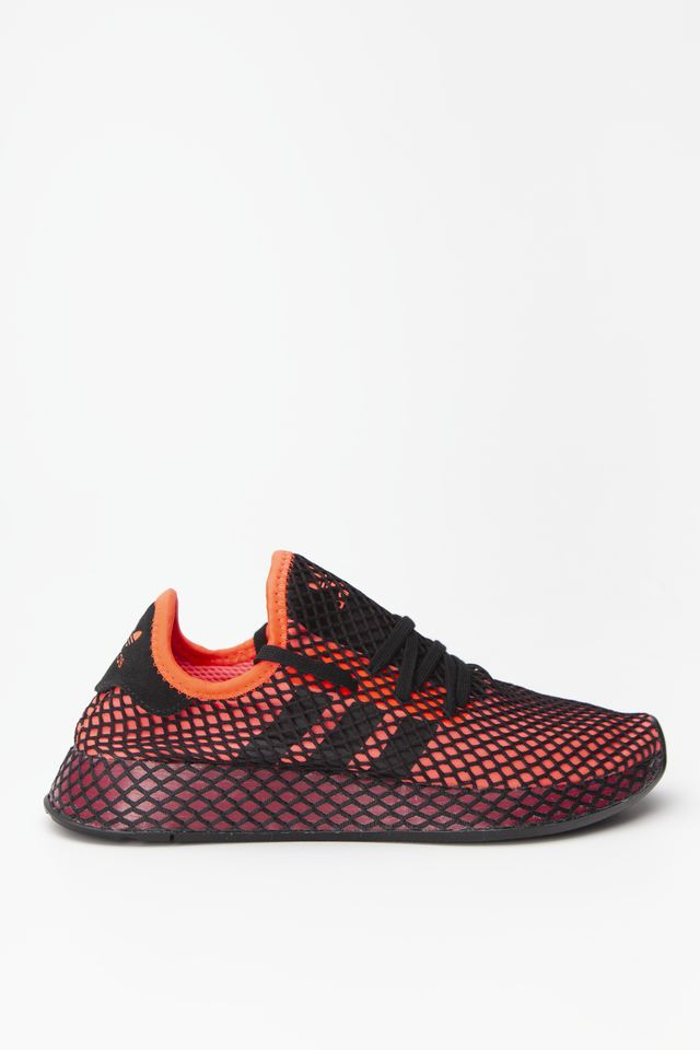 SOLAR RED/CORE BLACK/COLLEGIATE BURGUNDY DEERUPT RUNNER 661
