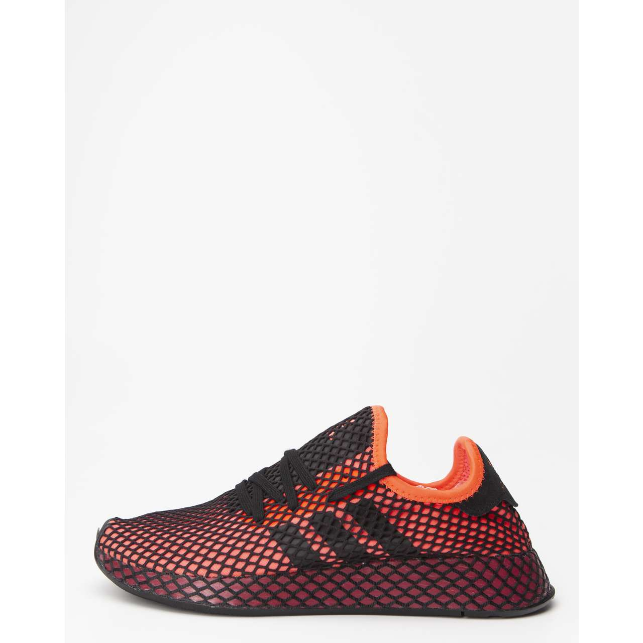 Buty adidas  <br/><small>DEERUPT RUNNER 661 SOLAR RED/CORE BLACK/COLLEGIATE BURGUNDY </small>  EE5661