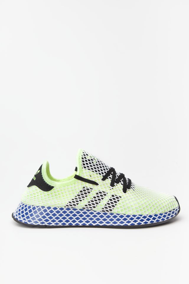 adidas DEERUPT RUNNER 662 HI-RES YELLOW/CORE BLACK/CLOUD WHITE EE5662