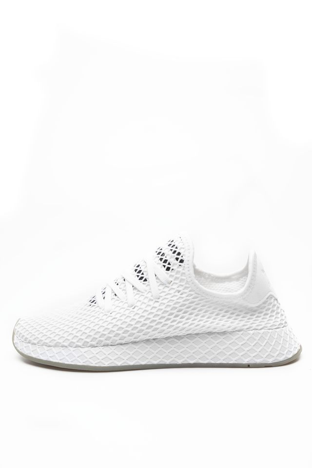Buty adidas  <br/><small>DEERUPT RUNNER 673 FOOTWEAR WHITE/CORE BLACK/SESAME </small>  EE5673