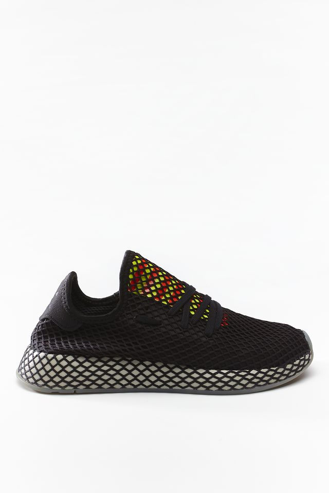 adidas DEERUPT RUNNER 674 CORE BLACK/SESAME/SOLAR RED EE5674