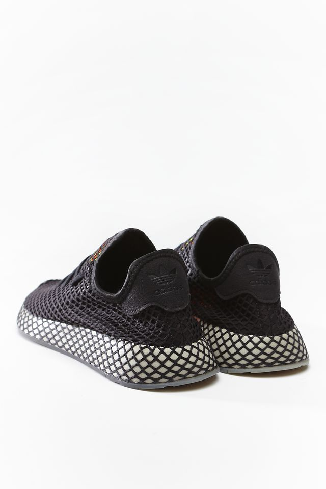 Buty adidas  <br/><small>DEERUPT RUNNER 674 CORE BLACK/SESAME/SOLAR RED </small>  EE5674