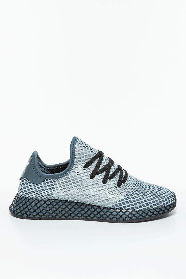 CORE BLACK/HI-RES AQUA DEERUPT RUNNER 354