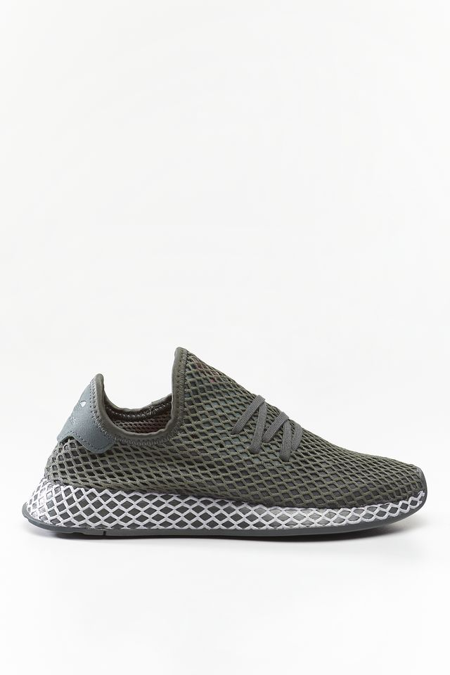 adidas DEERUPT RUNNER J GREY/GREY TWO/CORE BLACK CM8659