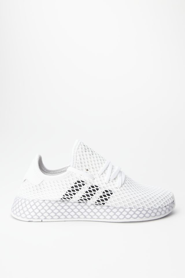 adidas DEERUPT RUNNER J 295 CLOUD WHITE/CORE BLACK/GREY TWO F34295