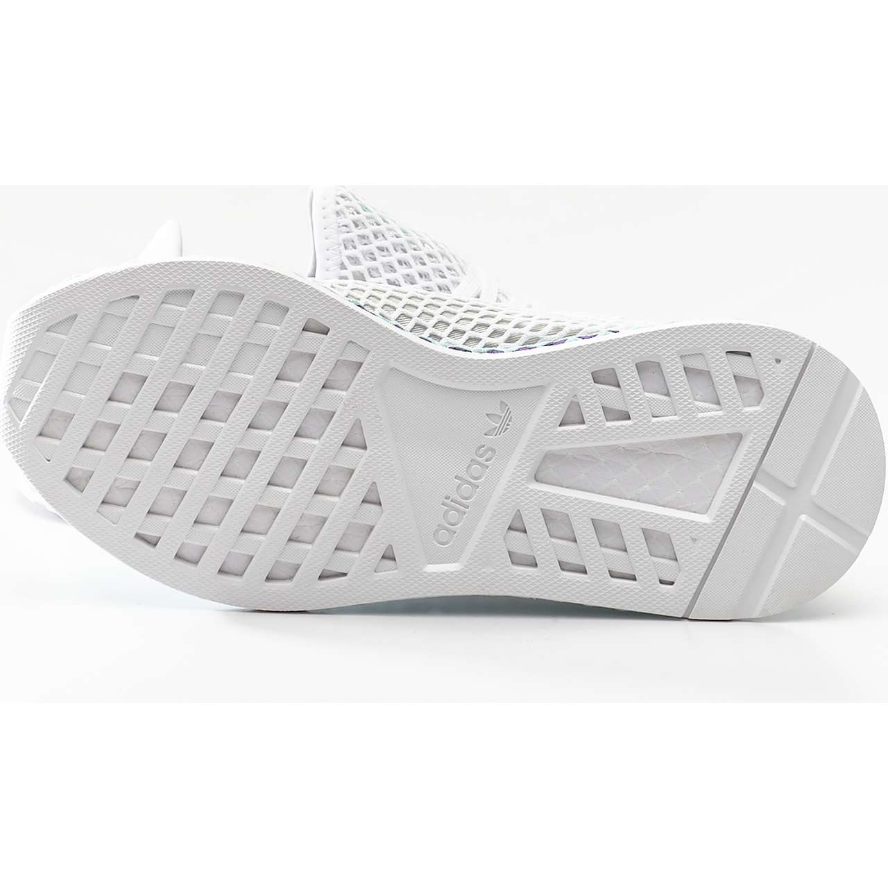 Buty adidas  <br/><small>DEERUPT RUNNER W FOOTWEAR WHITE/GREY ONE/CLEAR MINT </small>  CG6089
