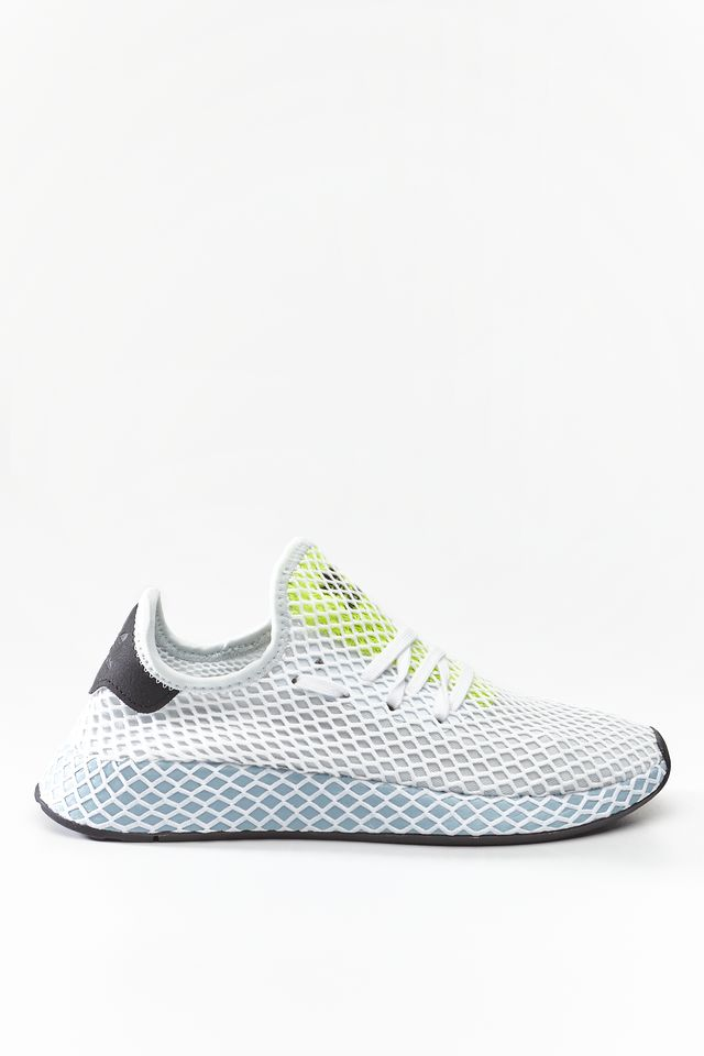 adidas DEERUPT RUNNER W BLUE TINT/ASH GREY/HI-RES YELLOW CG6094