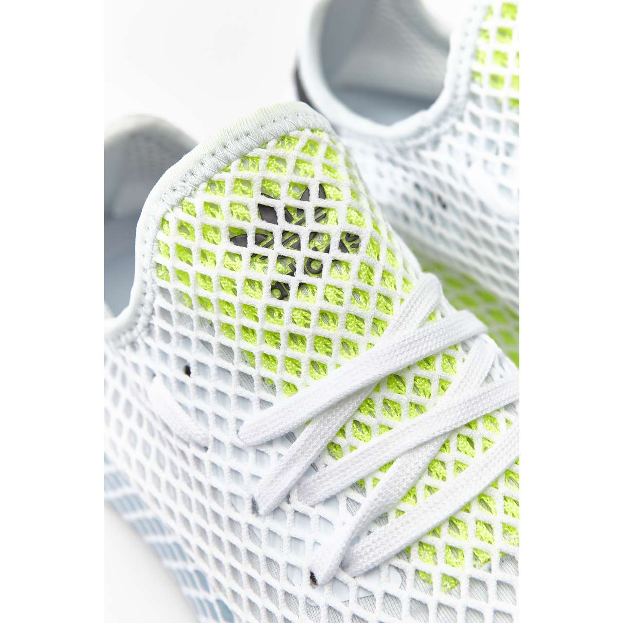 Buty adidas  <br/><small>DEERUPT RUNNER W BLUE TINT/ASH GREY/HI-RES YELLOW </small>  CG6094