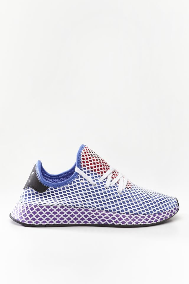 adidas DEERUPT RUNNER W ORANGE/ACTIVE PURPLE/SHOCK RED CG6095