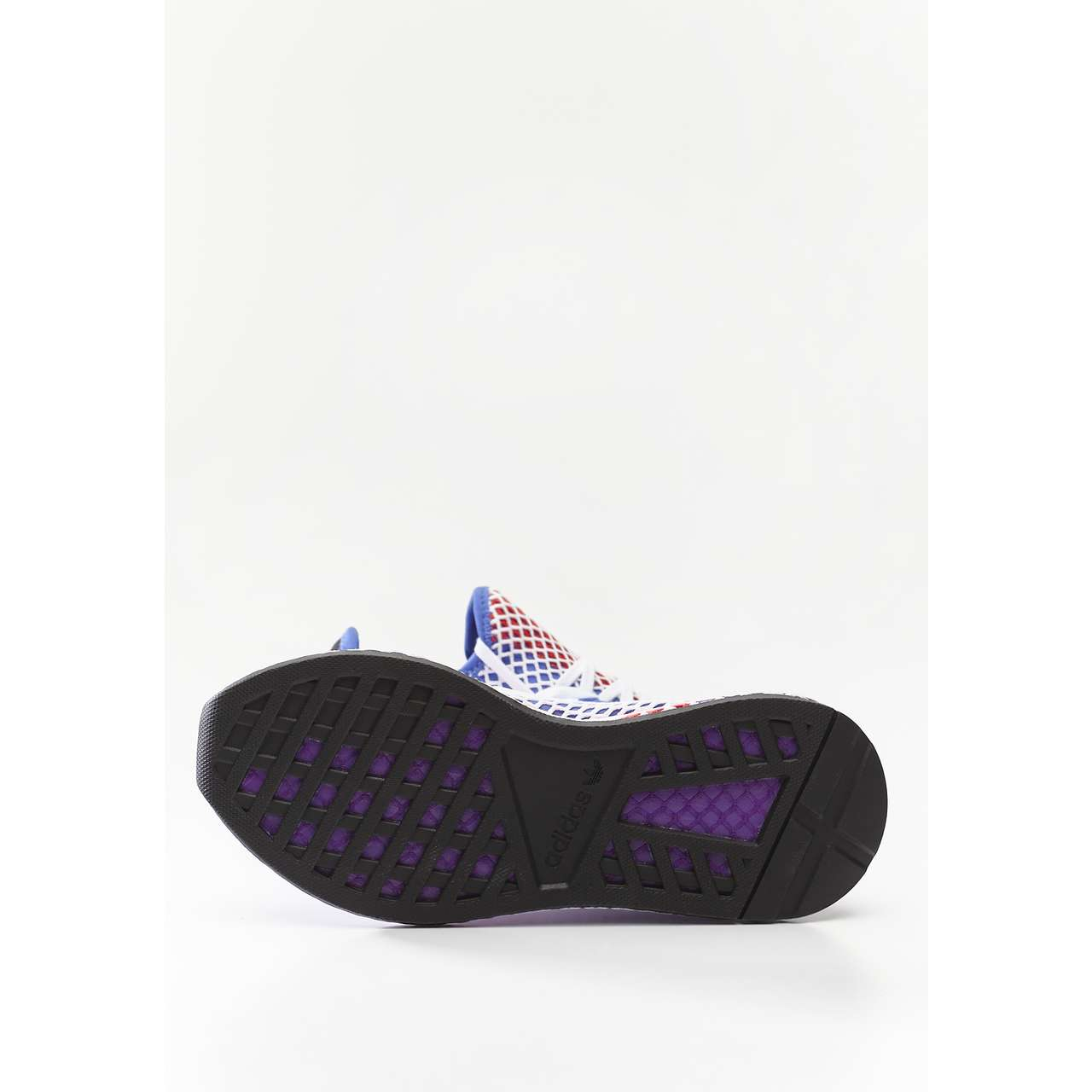 Buty adidas  <br/><small>DEERUPT RUNNER W ORANGE/ACTIVE PURPLE/SHOCK RED </small>  CG6095