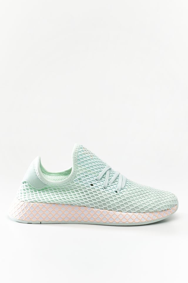 adidas DEERUPT RUNNER W TURQUOISE/FOOTWEAR WHITE/CLEAR ORANGE CG6841