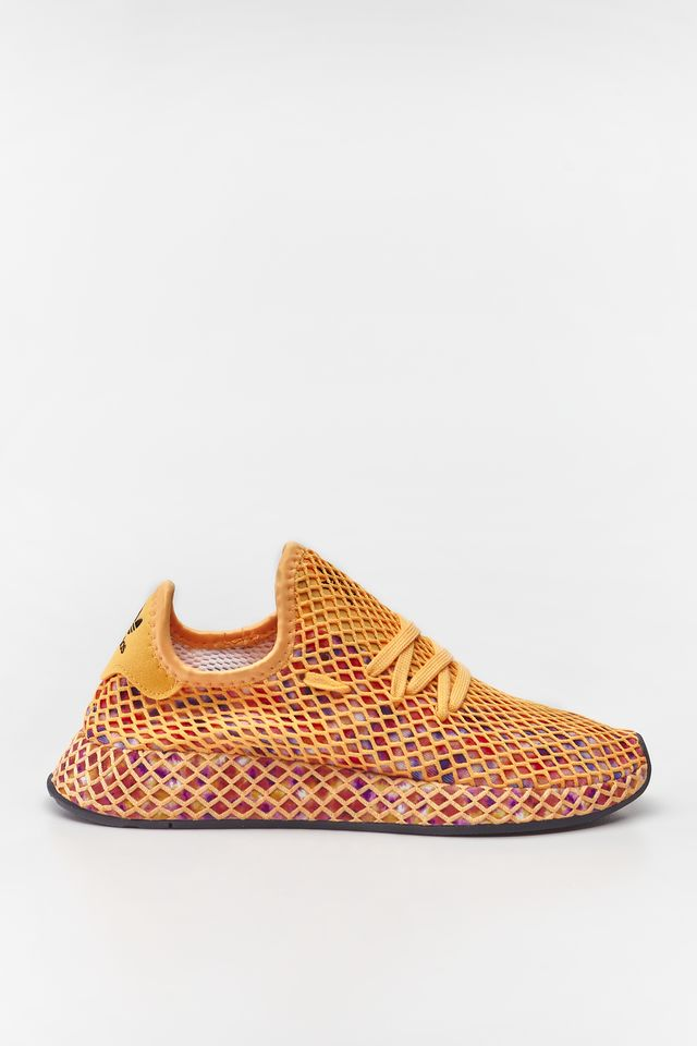 adidas DEERUPT RUNNER W 773 FLASH ORANGE/CORE BLACK/CORE BLACK EE5773