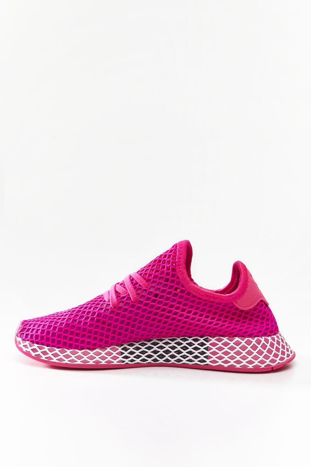 Buty adidas  <br/><small>DEERUPT RUNNER W SHOCK PINK/VIVID PINK/CLOUD WHITE </small>  CG6090