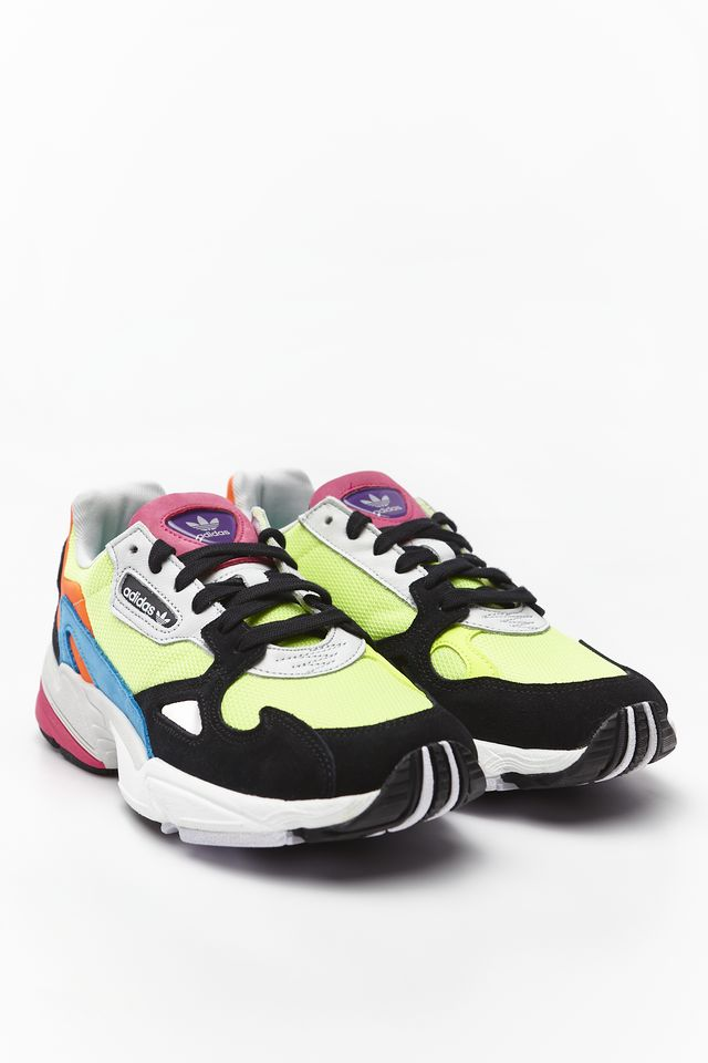 c86a611aef7d41 adidas FALCON W 210 MULTI/HI-RES YELLOW/CORE BLACK CG6210