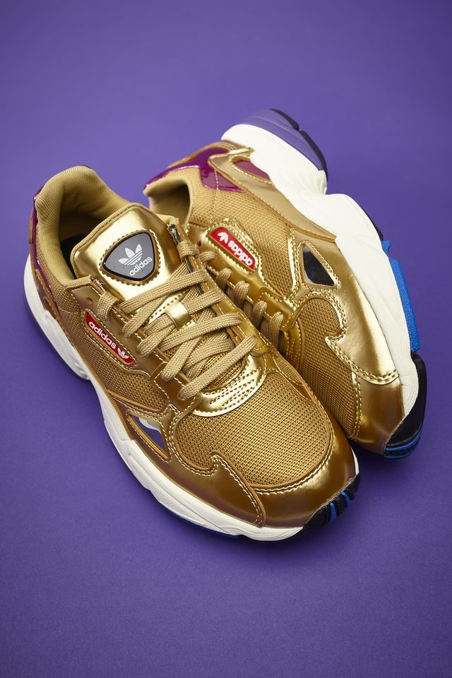 adidas FALCON W 247 GOLD METALLIC/GOLD METALLIC/OFF WHITE CG6247