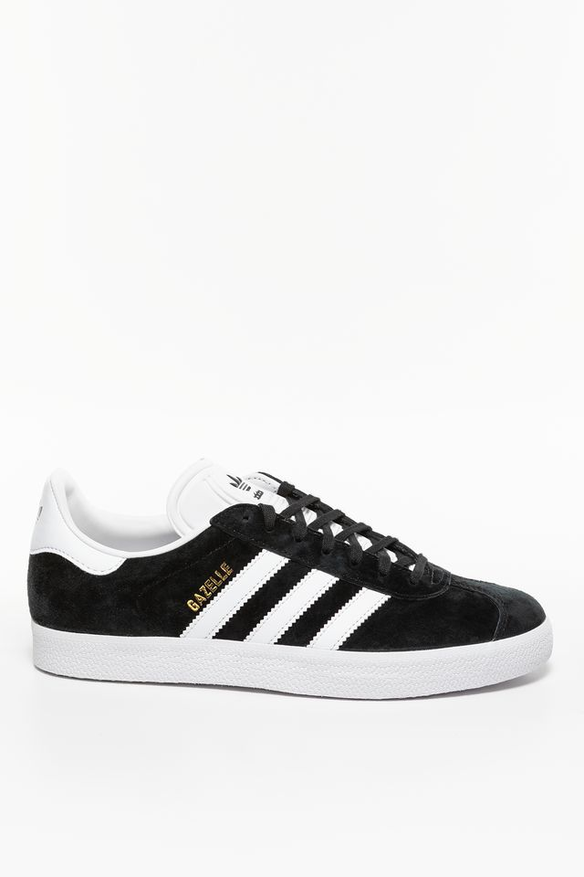 Core Black/White/Gold Metallic Gazelle 476