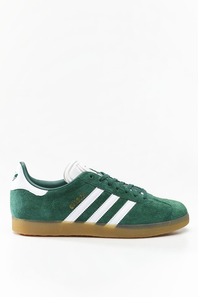 adidas GAZELLE 872 COLLEGIATE GREEN/FOOTWEAR WHITE/GUM 3 DA8872