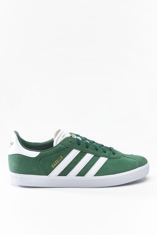 adidas GAZELLE J 697 COLLEGIATE GREEN/FOOTWEAR WHITE/FOOTWEAR WHITE CG6697
