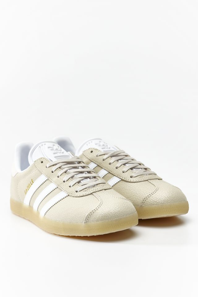 CLEAR BROWN/FOOTWEAR WHITE/ECRU TINT GAZELLE W 063