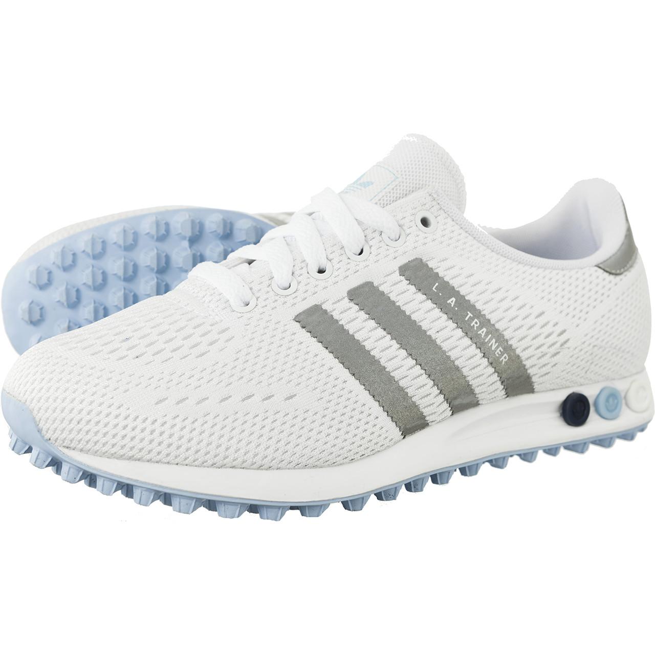 adidas la trainer białe