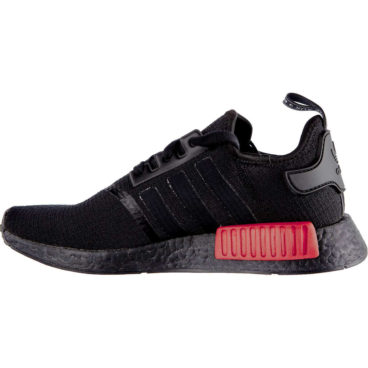 Buty adidas  <br/><small>NMD_R1 CORE BLACK/CORE BLACK/LUSH RED </small>  B37618