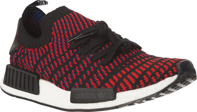 adidas NMD R1 STLT PRIMEKNIT CORE BLACK/RED SOLID/SATELLITE CQ2385