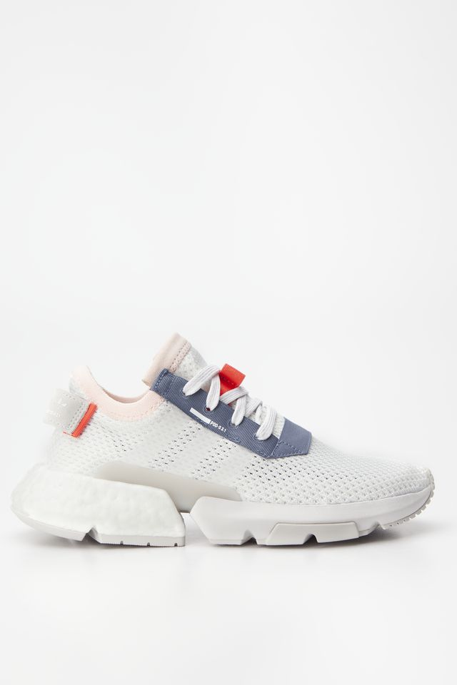 FOOTWEAR WHITE/FOOTWEAR WHITE/GREY ONE POD-S3.1 J 750