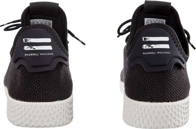 Buty adidas  <br/><small>PHARRELL WILLIAMS TENNIS HU 056 CORE BLACK/CORE BLACK/CHALK WHITE </small>  AQ1056