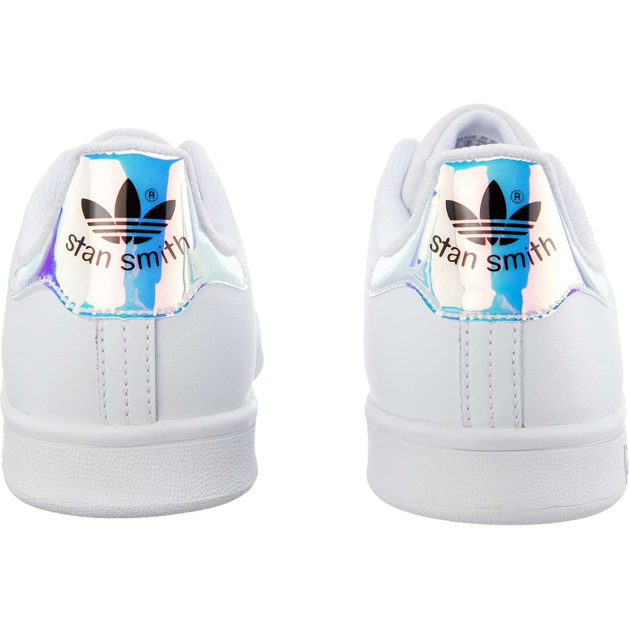 Buty adidas  <br/><small>STAN SMITH J 272 FOOTWEAR WHITE/METALLIC SILVER/FOOTWEAR WHITE </small>  AQ6272
