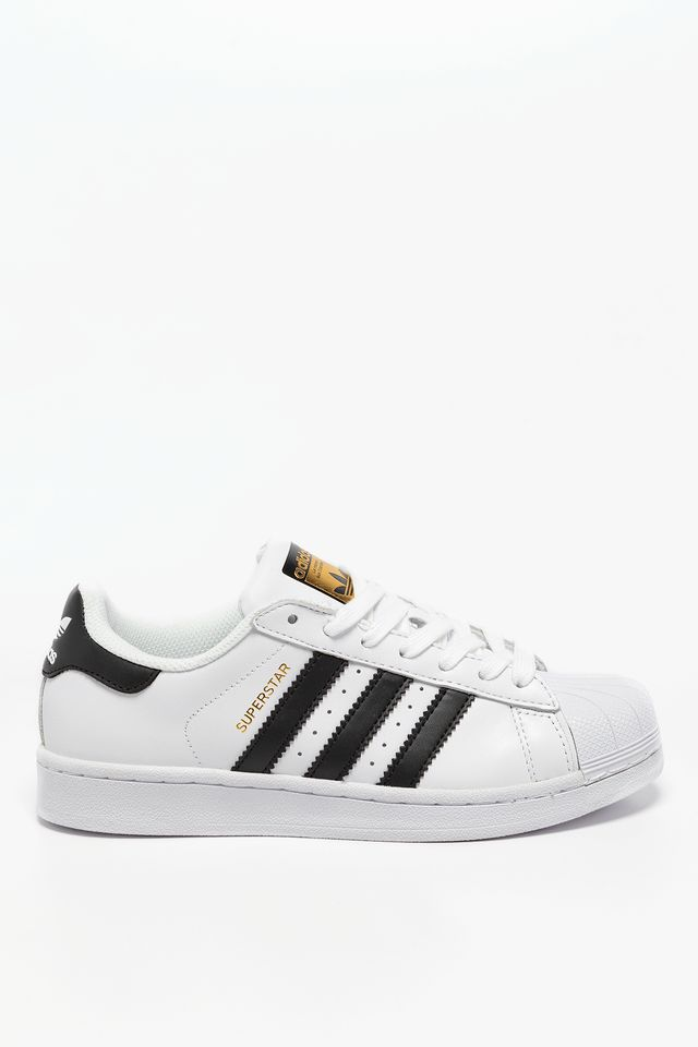 White/Core Black Superstar 124