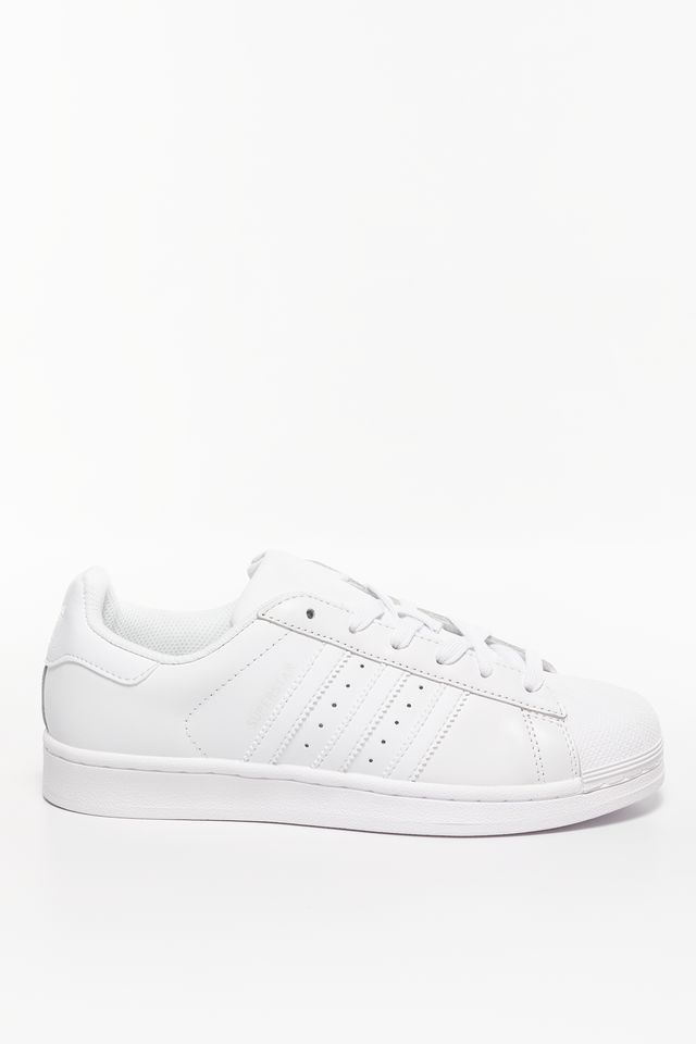 Ftwr White/Ftwr White/Ftwr White Superstar Foundation 136