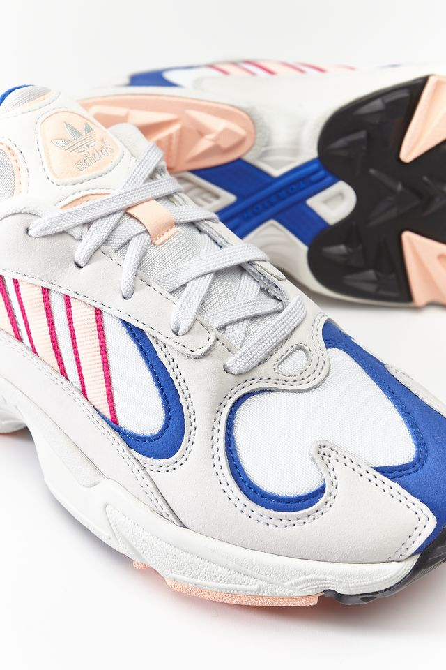 adidas YUNG-1 CRYSTAL WHITE/CLEAR ORANGE/COLLEGIATE ROYAL BD7654
