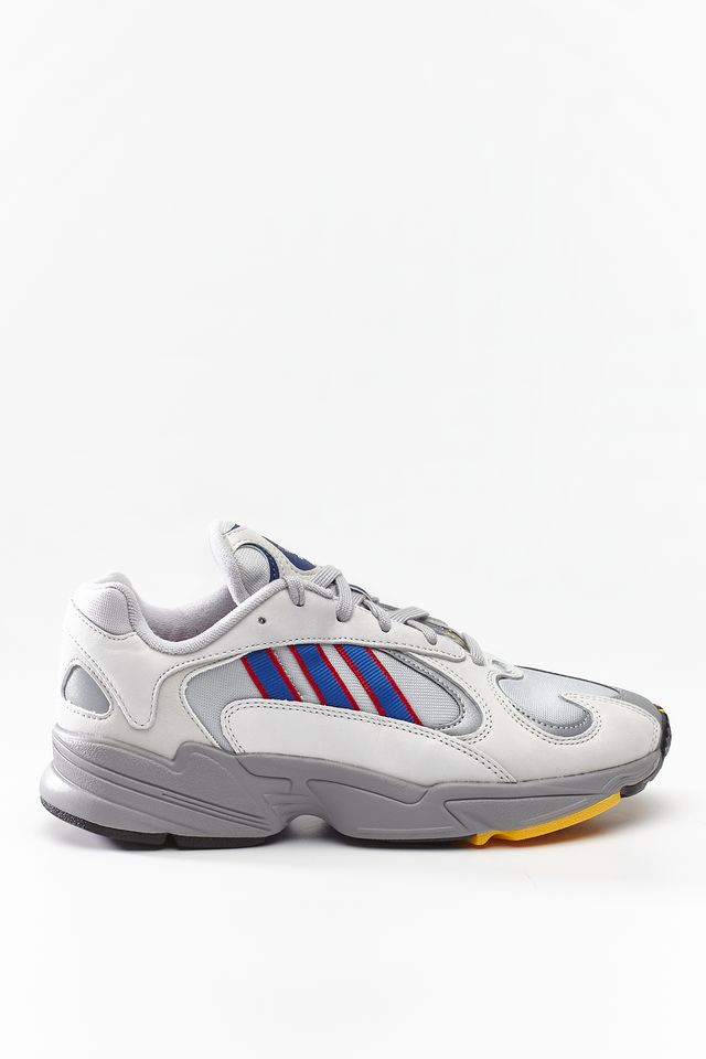 Buty adidas  <br/><small>YUNG-1 127 GREY TWO/COLLEGIATE ROYAL/SCARLET </small>  CG7127