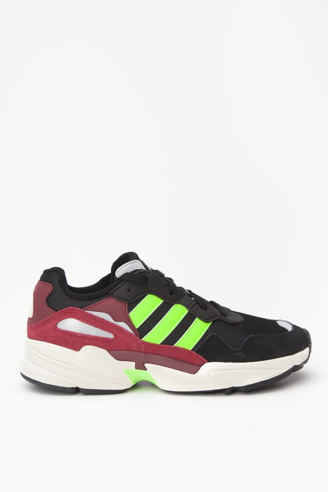 adidas Yung-96 CORE BLACK/SOLAR GREEN/COLLEGIATE BURGUNDY EE7247