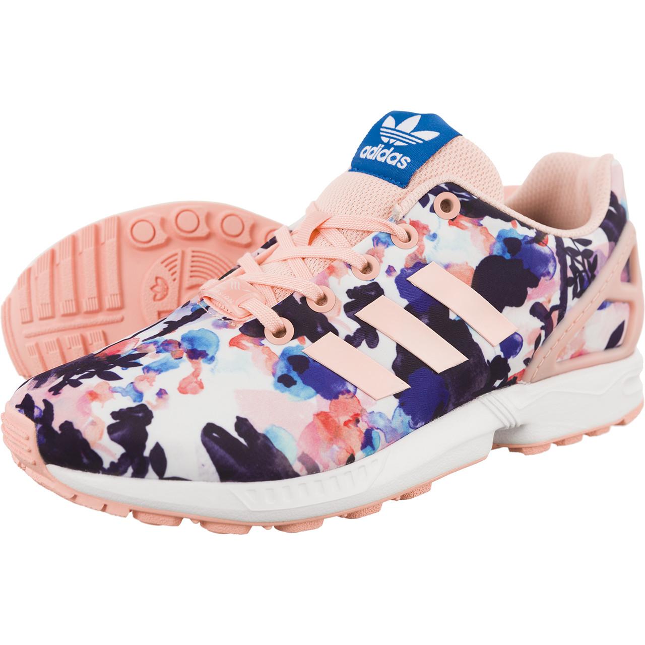 adidas zx flux damskie w kwiaty