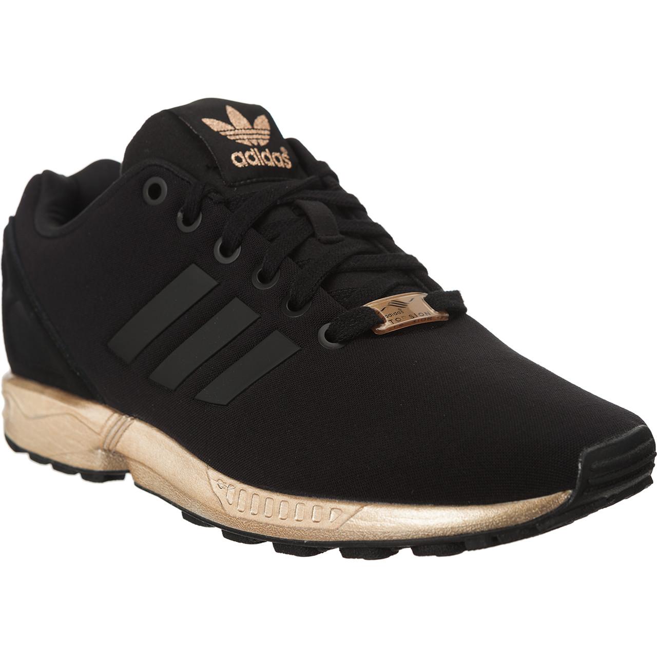 buty damskie adidas zx flux s78977 złote