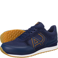 Buty Armani Jeans Leather Sneaker 7P424-40835