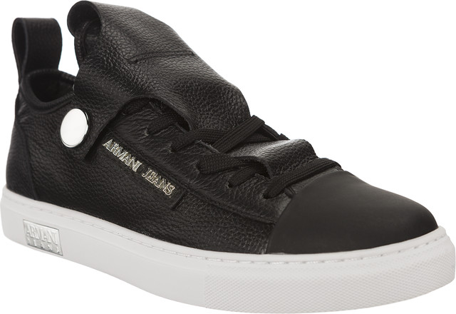 Armani Jeans Woman Leather Sneaker 9252537A663-0020