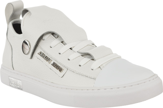 Armani Jeans Woman Leather Sneaker 9252537A663-41610