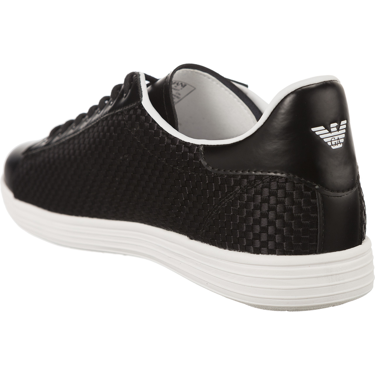 Buty Armani Jeans  <br/><small>Woven Sneaker 7P407-00020 </small>