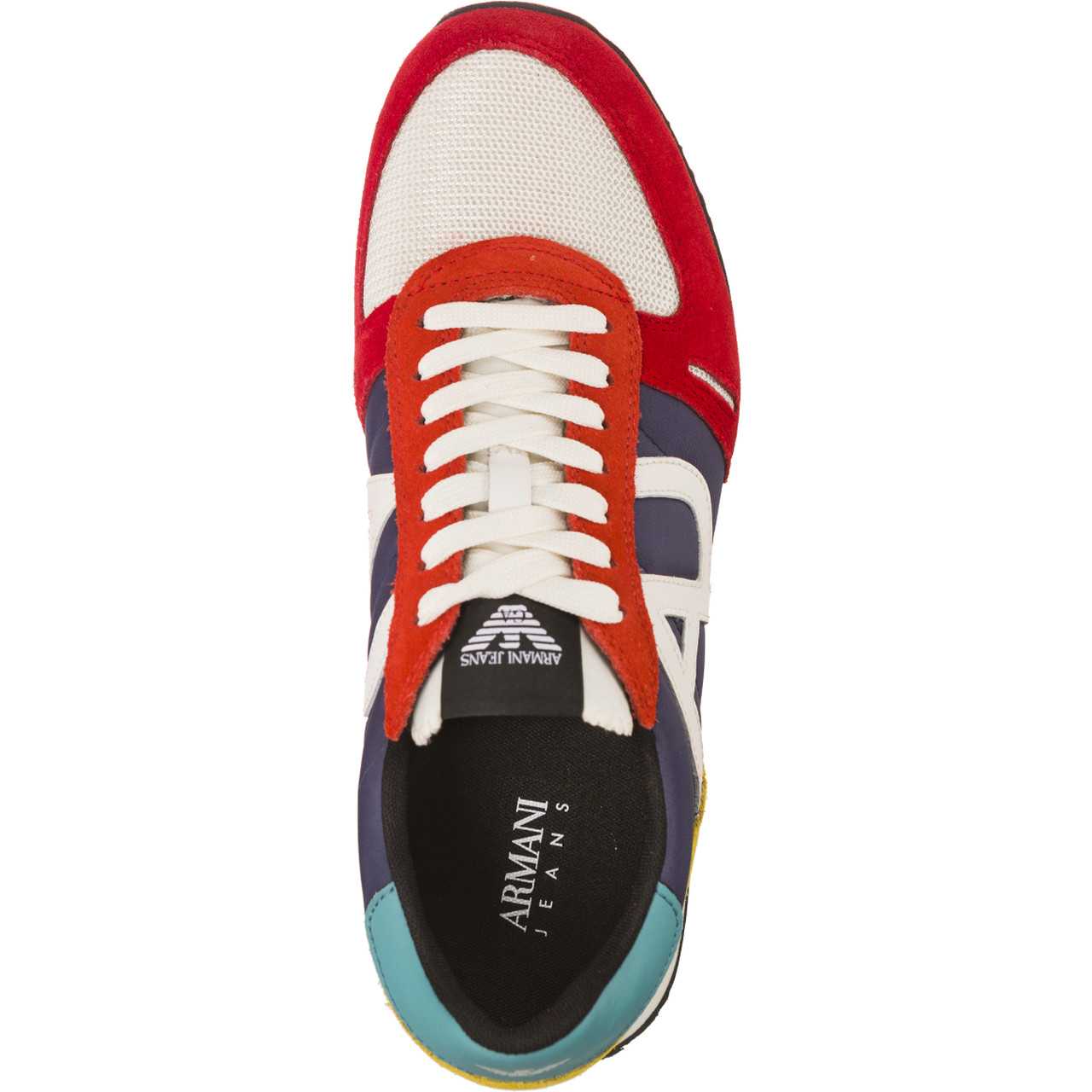 Buty Armani Jeans  <br/><small>Woven Sneaker 7P420-00699 </small>
