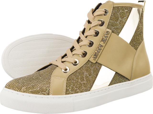 Armani Jeans Woven Sneaker 7P566-06250
