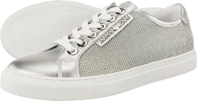 b086efabff4f5 Buty Armani Jeans Woven Sneaker 7P597-00017 - eastend.pl