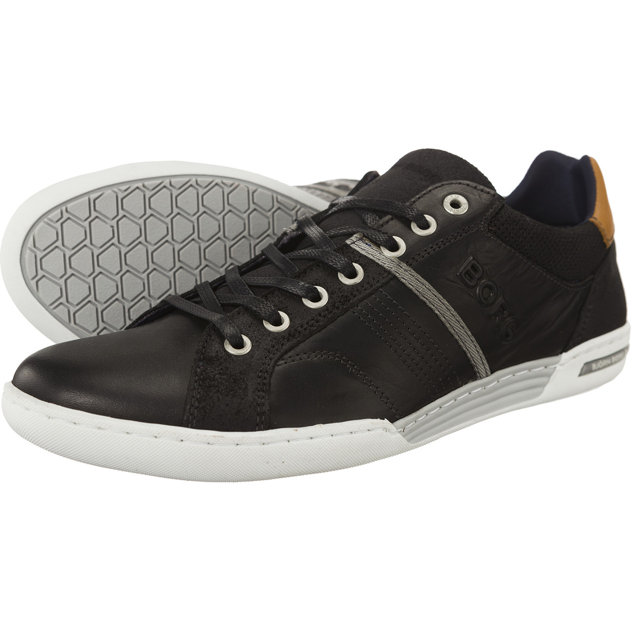 Buty Bjorn Borg  <br/><small>ROSCOE 0902 BLACK-LIGHT GREY </small>  1 642 048 538