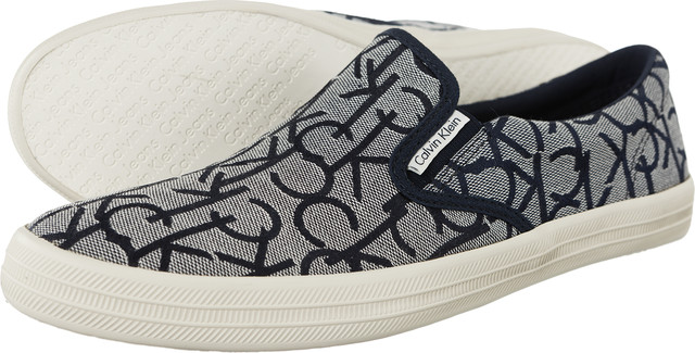 Buty Calvin Klein Jeans  <br/><small>Orville CK Logo Jacquard NVY </small>  SE8546-NVY