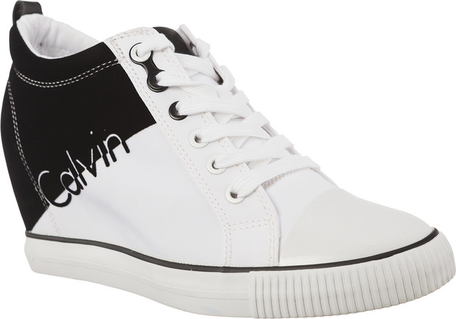Buty Calvin Klein Jeans  <br/><small>Rory Nylon R0647 White/Black </small>